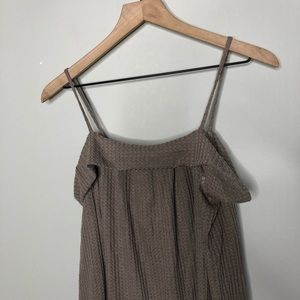 Tops - New Tan Waffle Knit Long Sleeve Cold Should Top